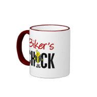 Biker's Chick mug