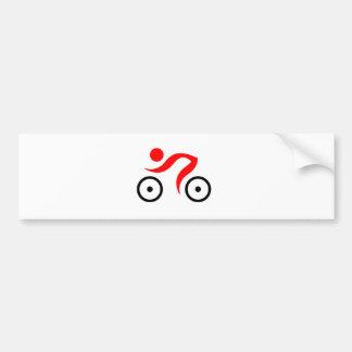 Bikers cool and unique design bumper sticker
