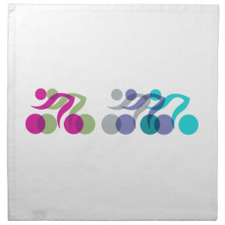 Bikers cool logo napkin
