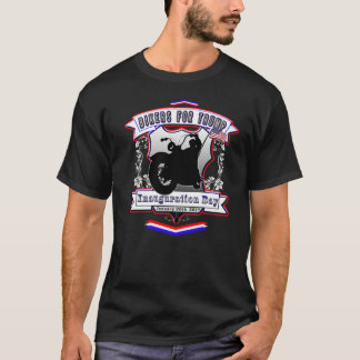 Bikers for Trump Red White Blue Inauguration Day T-Shirt