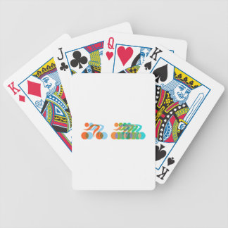 Bikers Freak Bicycle Playing Cards