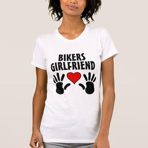 Bikers Girlfriend Ladies Tee Shirt