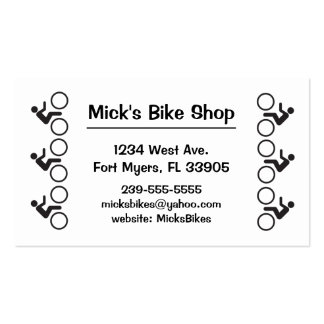 bikers have one track minds Double-Sided standard business cards (Pack of 100)