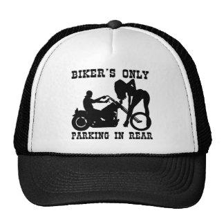Biker's Only Parking In Rear Trucker Hat