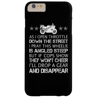 BIKER'S POEM BARELY THERE iPhone 6 PLUS CASE