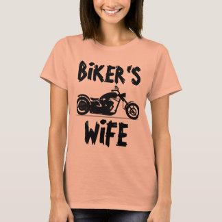 BIKER'S WIFE Motorcycle T-shirts
