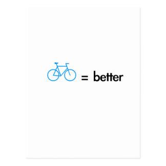 bikes are better postal