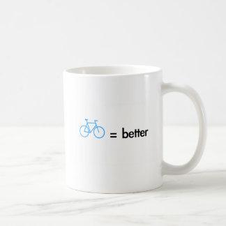 Bikes Are Better Taza Clásica