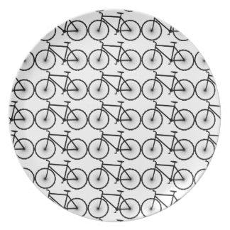 Bikes are fun melamine plate