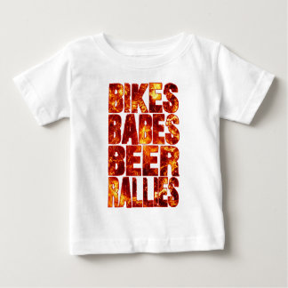 Bikes Babes Beer Rallies Infant T-shirt