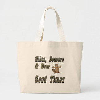 Bikes Beavers And Beer Canvas Bags