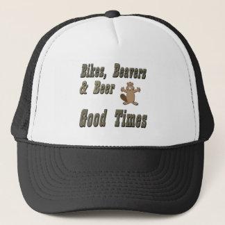 Bikes Beavers And Beer Trucker Hat
