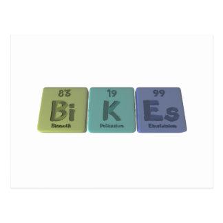 Bikes-Bi-K-Es-Bismuth-Potassium-Einsteinium.png Postcard