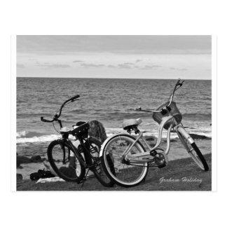 Bikes by the Sea Postcard
