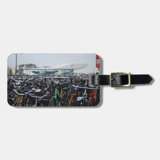 Bikes in Amsterdam Bag Tag