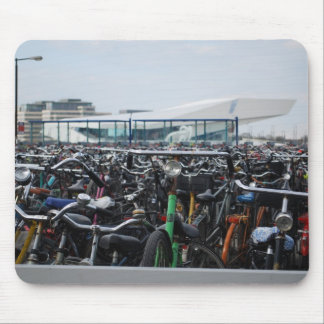 Bikes in Amsterdam Mouse Pad