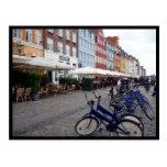 bikes nyhavn postcards