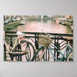 Bikes Of Amsterdam Print
