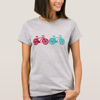Bikes on the road t-shirt