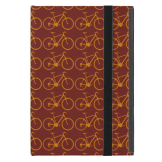 bikes pattern, cycling iPad mini case