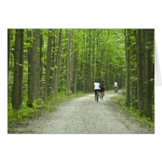 Biking at Ohiopyle State Park Card