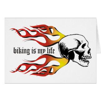 Biking Card