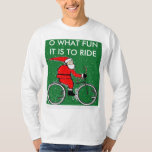 biking Christmas gift ideas T-shirt