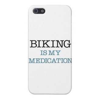 Biking is my Medication Covers For iPhone 5