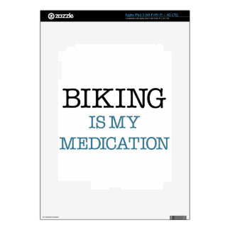 Biking is my Medication iPad 3 Decal