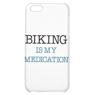 Biking is my Medication iPhone 5C Cases