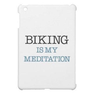 Biking is my Meditation Cover For The iPad Mini