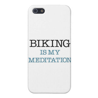 Biking is my Meditation iPhone SE/5/5s Cover
