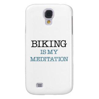 Biking is my Meditation Samsung Galaxy S4 Cover
