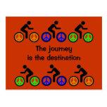 biking journey post cards