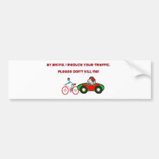 biking.JPG Bumper Sticker