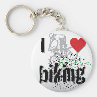 Biking Keychain