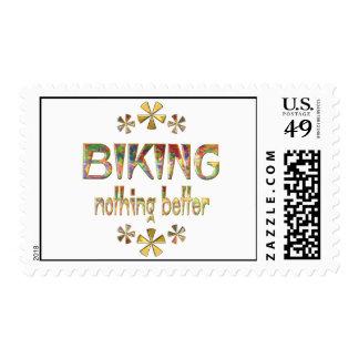 BIKING Nothing Better Stamp