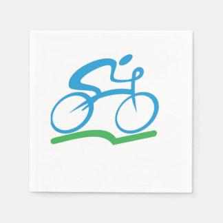 Biking Paper Napkins
