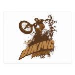 Biking Rocks! Postcard