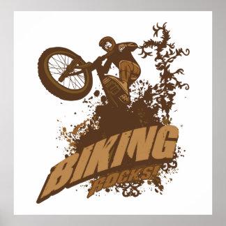 Biking Rocks! Posters