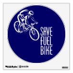 Biking, Save Fuel Wall Graphics