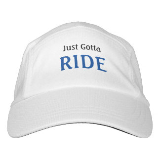 Biking Slogan Just Gotta Ride Hat