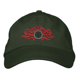 Biking Tribal Embroidered Baseball Caps
