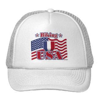 Biking USA Hat
