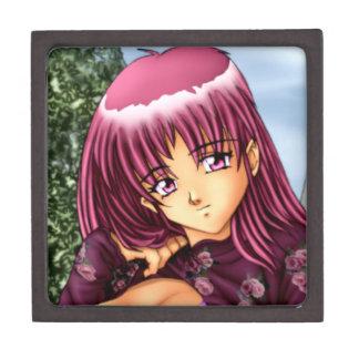 Bikini Anime Girl Keepsake Box