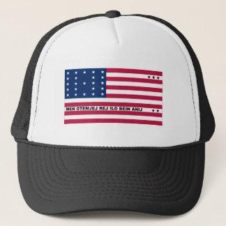 Bikini Atoll Flag Trucker Hat