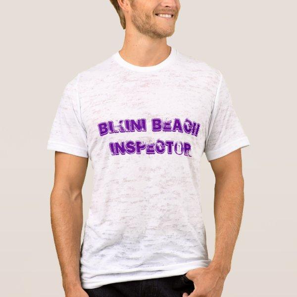Bikini Beach Inspector T-Shirt