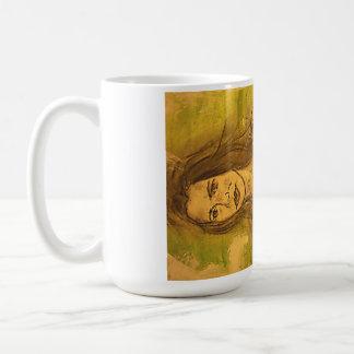 bikini girl art classic white coffee mug