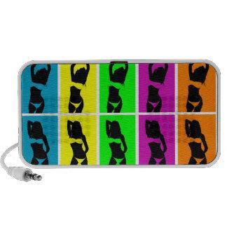 Bikini Girls Portable Speakers