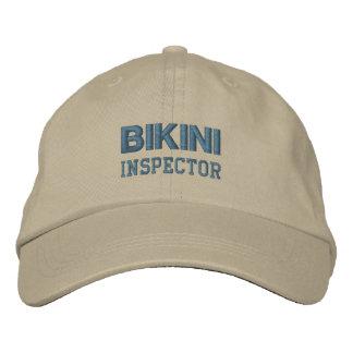 BIKINI INSPECTOR cap (monotone)